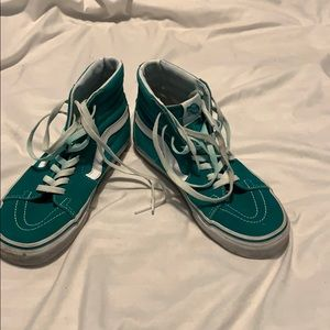 Green high top vans